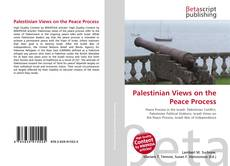 Bookcover of Palestinian Views on the Peace Process