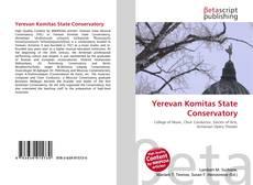 Capa do livro de Yerevan Komitas State Conservatory