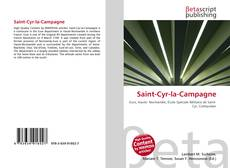 Buchcover von Saint-Cyr-la-Campagne