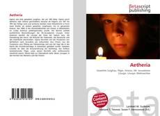 Capa do livro de Aetheria