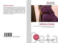 Copertina di Aetherius Society