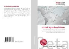 Bookcover of Israeli Apartheid Week