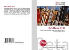 HMS Osiris (S13) kitap kapağı