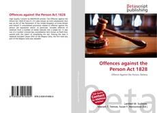 Portada del libro de Offences against the Person Act 1828