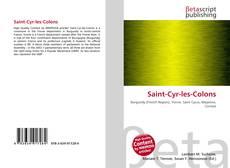 Bookcover of Saint-Cyr-les-Colons