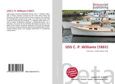 Capa do livro de USS C. P. Williams (1861)