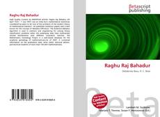 Bookcover of Raghu Raj Bahadur
