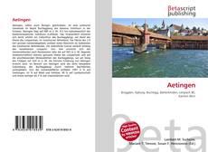 Bookcover of Aetingen