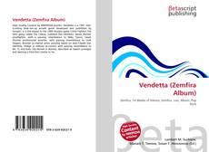 Bookcover of Vendetta (Zemfira Album)