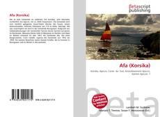 Обложка Afa (Korsika)