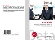 Обложка AfA-Tabelle