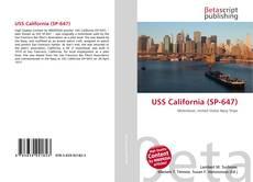 Обложка USS California (SP-647)