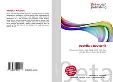 Bookcover of Vendlus Records