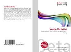 Bookcover of Vendo (Activity)