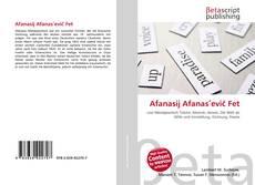 Bookcover of Afanasij Afanasʹevič Fet