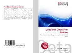 Portada del libro de Vendôme (Montreal Metro)