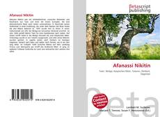 Afanassi Nikitin的封面