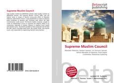 Bookcover of Supreme Muslim Council