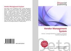 Bookcover of Vendor Management System