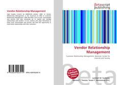 Vendor Relationship Management kitap kapağı