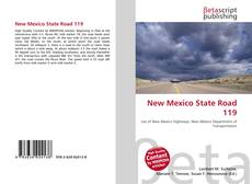 Bookcover of New Mexico State Road 119
