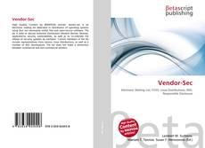 Vendor-Sec kitap kapağı