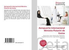 Portada del libro de Aeropuerto Internacional Ministro Pistarini de Ezeiza