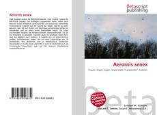 Copertina di Aerornis senex