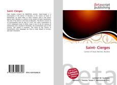 Buchcover von Saint- Cierges