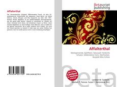 Bookcover of Affalterthal