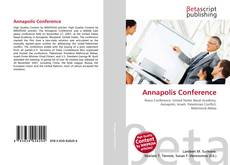 Bookcover of Annapolis Conference
