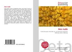 Bookcover of Aes rude