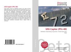 Bookcover of USS Captor (PYc-40)