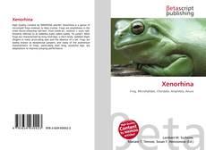 Xenorhina kitap kapağı