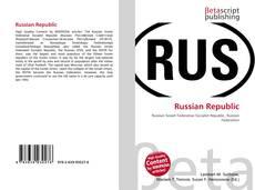 Portada del libro de Russian Republic
