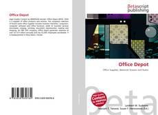 Office Depot kitap kapağı
