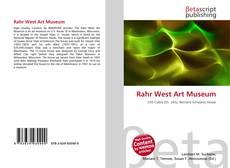 Portada del libro de Rahr West Art Museum