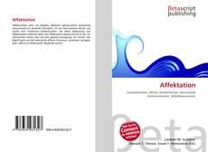 Bookcover of Affektation