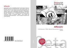 Bookcover of Affenohr