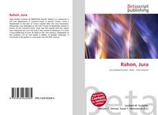 Buchcover von Rahon, Jura