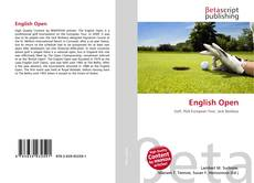 Bookcover of English Open