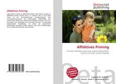 Bookcover of Affektives Priming