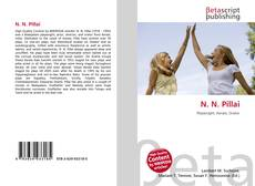 N. N. Pillai kitap kapağı