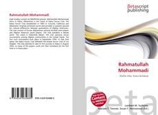 Capa do livro de Rahmatullah Mohammadi