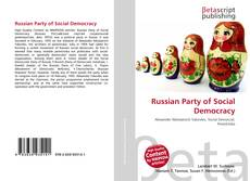Bookcover of Russian Party of Social Democracy