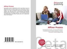 Capa do livro de Affiner Prozess