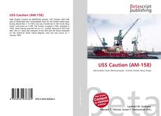 Bookcover of USS Caution (AM-158)