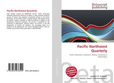 Обложка Pacific Northwest Quarterly