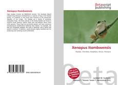 Capa do livro de Xenopus Itombwensis