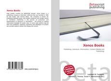 Copertina di Xenos Books